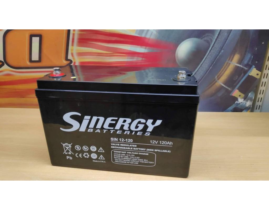 SINERGY AGM 120AH Deep Cycle