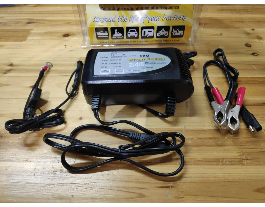 Batttery Charger  2/4/6